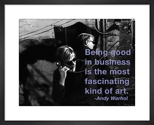 Business by Andy Warhol