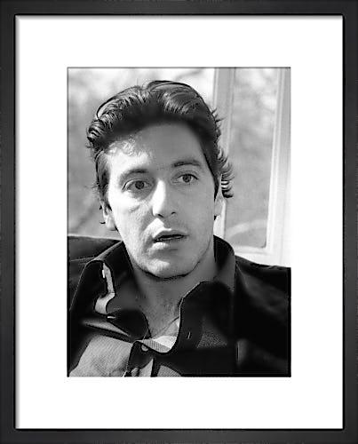 Al Pacino, March 1974 by Mirrorpix
