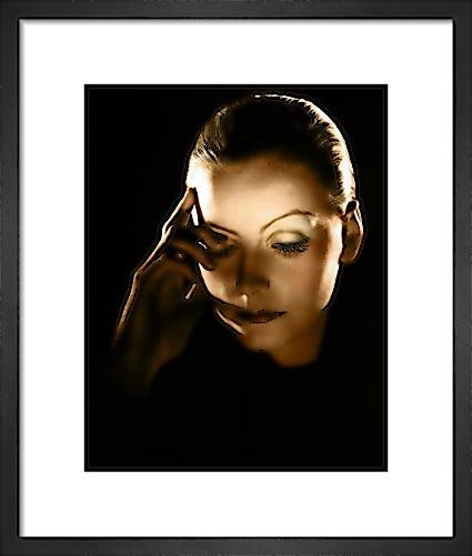 Greta Garbo (Mata Hari) by Hollywood Photo Archive