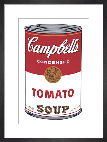 Campbell's Soup I: Tomato, 1968 by Andy Warhol
