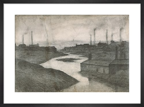 The River Irwell At The Adelphi, 1924 by L.S. Lowry