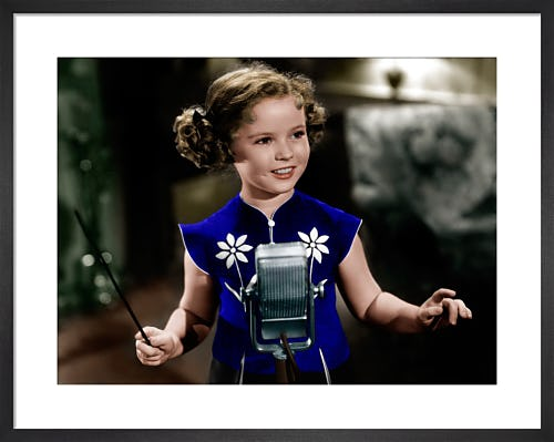 Shirley Temple (Rebecca of Sunnybrook Farm) 1938 by Hollywood Photo Archive