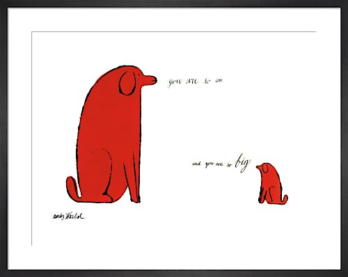 You Are So Little And You Are So Big, c.1958 by Andy Warhol
