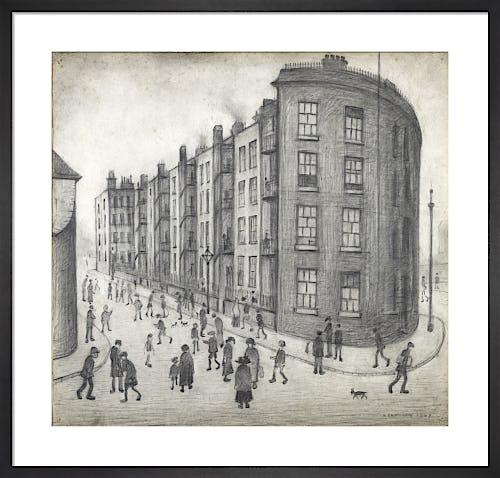 Oldfield Road Dwellings, 1929 by L.S. Lowry