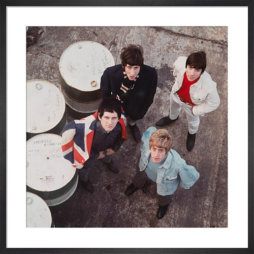The Who, 1965 by David Wedgbury