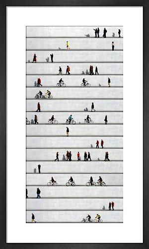 Wall People No.8 by Eka Sharashidze
