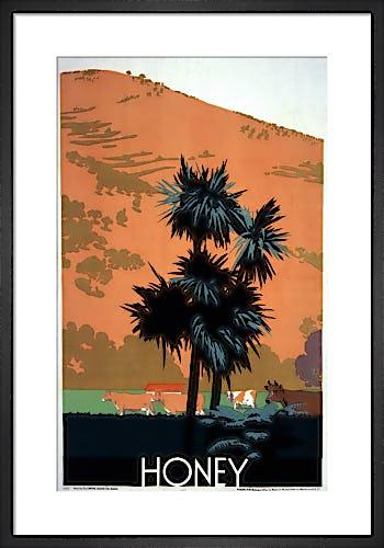 Empire Marketing Board - Honey by Frank Newbould