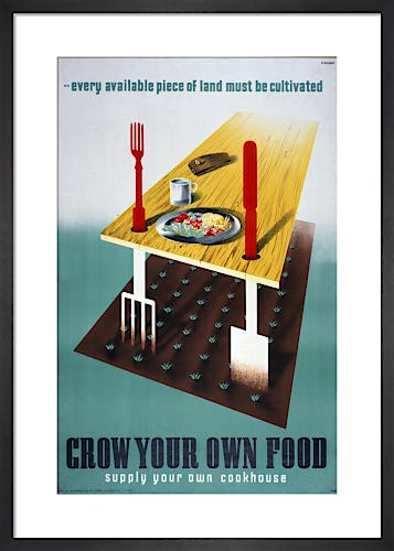 Grow Your Own Food by Abram Games