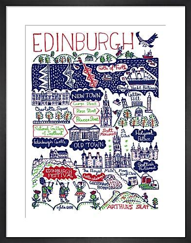 Edinburgh by Julia Gash