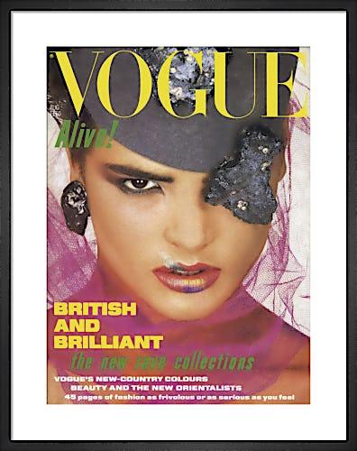 Vogue August 1984 by Albert Watson