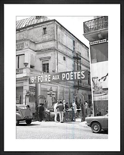 Poets Fair, Paris 1963 by Alan Scales