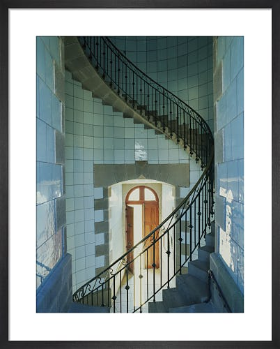 Lighthouse staircase II by Jean Guichard