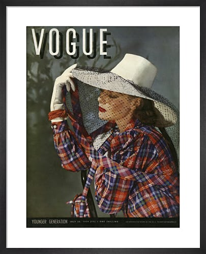 Vogue July 1939 by Horst P. Horst