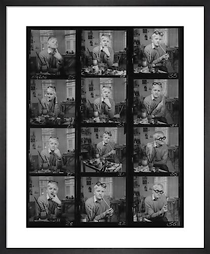 David Hockney, February 1970 by Francis Goodman