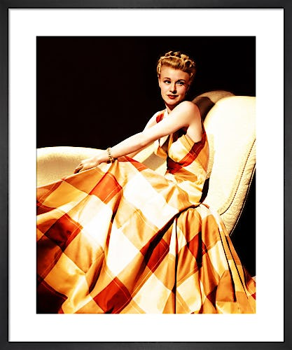 Ginger Rogers, dress by Adrian 1941 by Hollywood Photo Archive