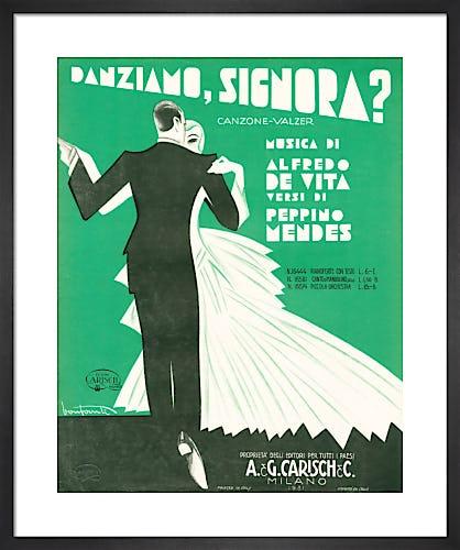 Danziamo, Signora? from Art Inspired by Music