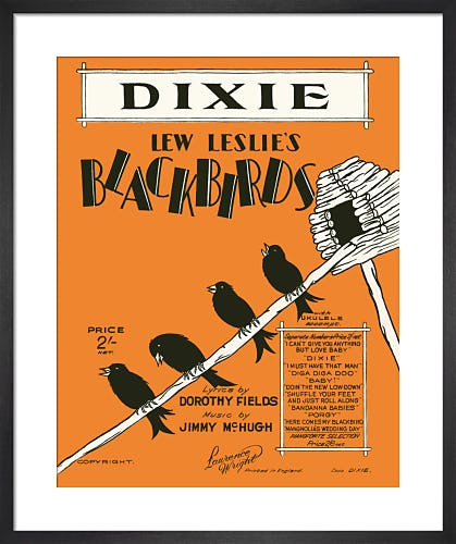 Dixie (Blackbirds) from Art Inspired by Music