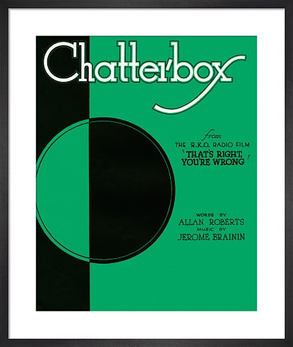 Chatterbox (That's Right, You're Wrong) from Art Inspired by Music