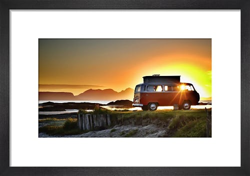 VW West Coast Scotland Sunset by Paul Stevenson
