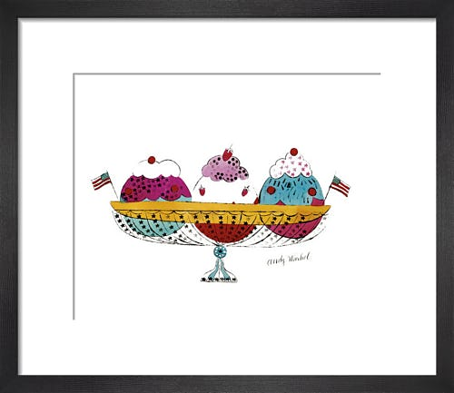 Ice Cream Dessert, c.1959 (3 scoop) by Andy Warhol