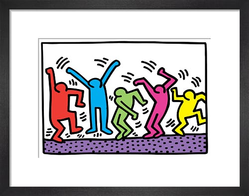 Untitled (dance) by Keith Haring