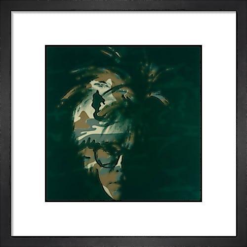 Self Portrait, 1986 (brown camo) by Andy Warhol