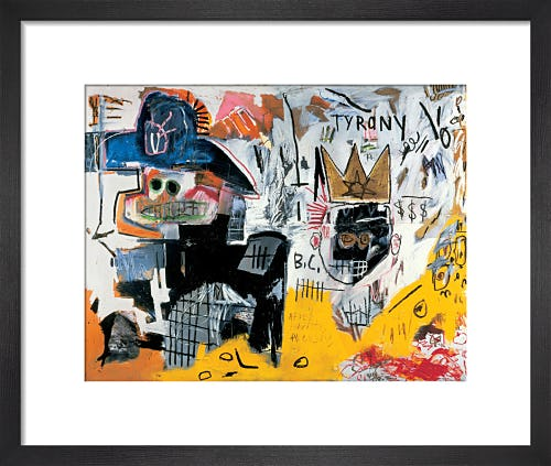 Untitled (Tyrany) 1982 by Jean-Michel Basquiat