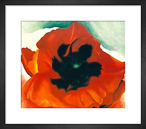 Red Poppy, 1927 by Georgia O'Keeffe