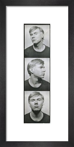 Self Portrait, c.1964 (photobooth pictures) by Andy Warhol