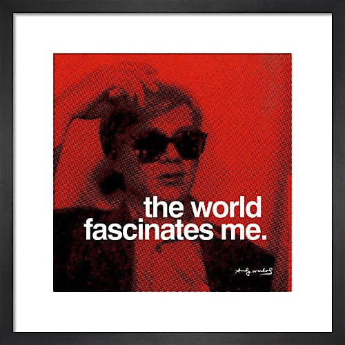 The World by Andy Warhol