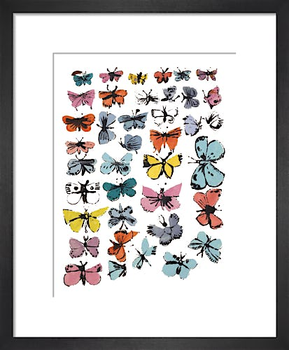 Butterflies, 1955 (many/varied colors) by Andy Warhol