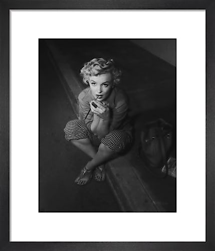 Marilyn Monroe - At home in Palm Springs by Hollywood Photo Archive