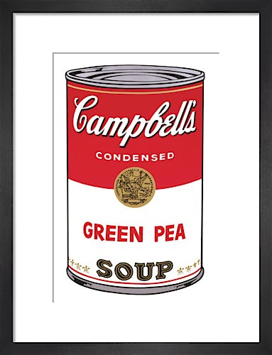 Campbell's Soup I, 1968 (green pea) by Andy Warhol