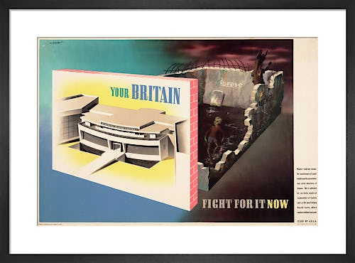 Your Britain - Fight for it Now (Health Centre) by Abram Games