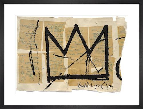 Untitled (Crown), 1982 by Jean-Michel Basquiat