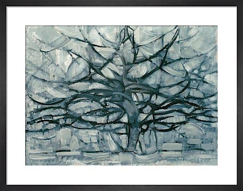 Grey Tree, 1911 by Piet Mondrian