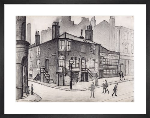 Great Ancoats Street, Manchester, 1930 by L.S. Lowry