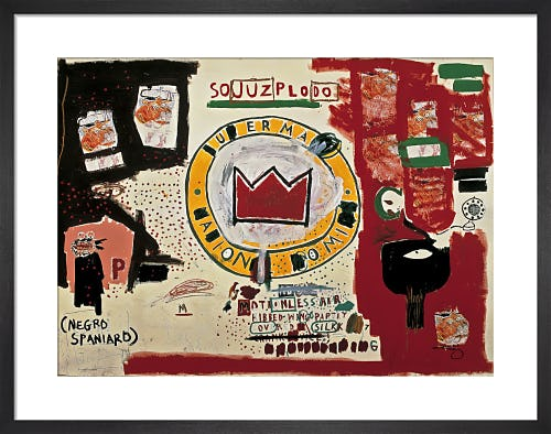 Untitled (Crown) 1988 by Jean-Michel Basquiat