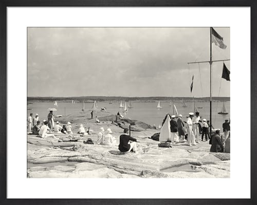 Dinghy Racing c.1930 from Stilltime