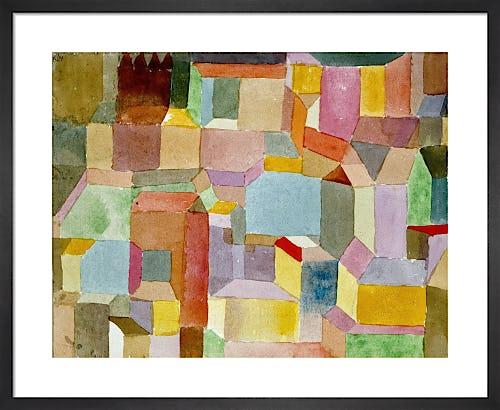 Mittelalterliche Stadt (Medieval Town) 1915 by Paul Klee