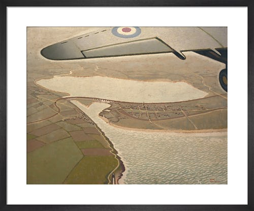 An Air View of Montrose, Angus by Keith Henderson