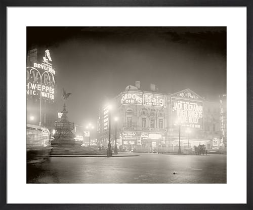 Piccadilly Circus, 1920s from Stilltime