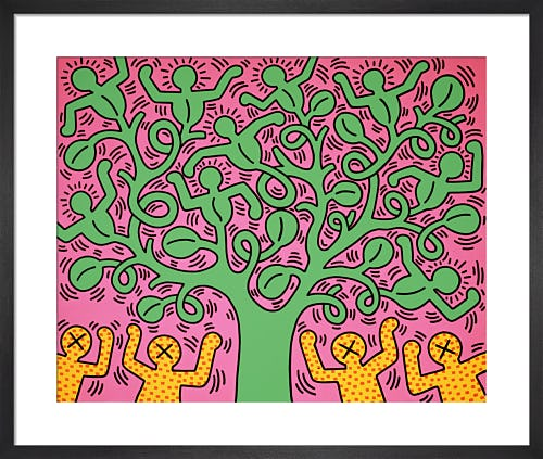 Untitled (Tree of Life) by Keith Haring