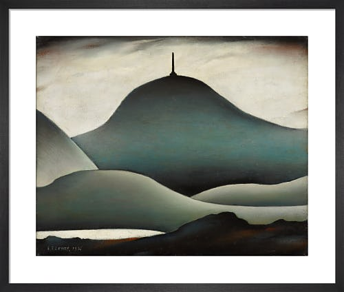 A Landmark, 1936 by L.S. Lowry