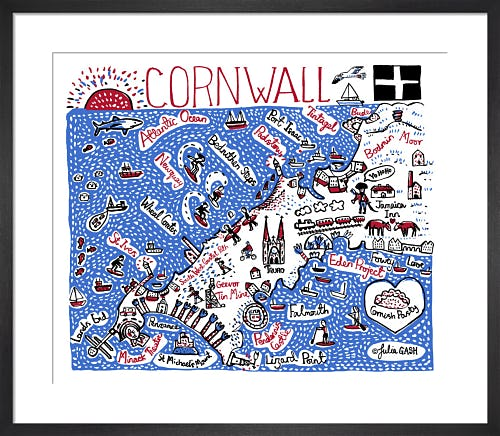 Cornwall by Julia Gash