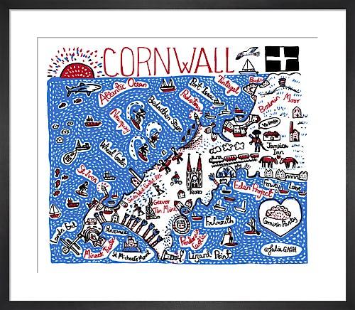 Cornwall by Julia Gash