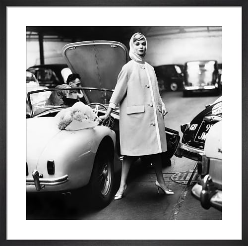 Vogue December 1959 by Claude Virgin