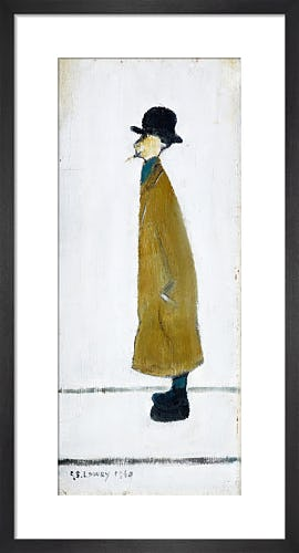 Gentleman Looking At Something, 1960 by L.S. Lowry