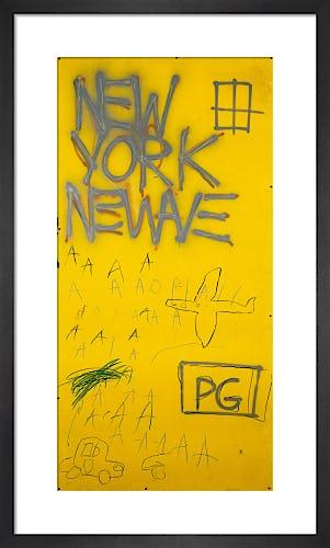 Untitled (New York) 1981 by Jean-Michel Basquiat