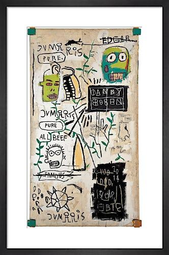 Danny Rosen, 1983 by Jean-Michel Basquiat